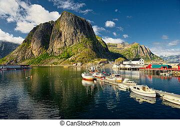 Lofoten Islands. Norway. Travel