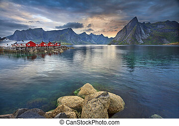 lofoten, islands.