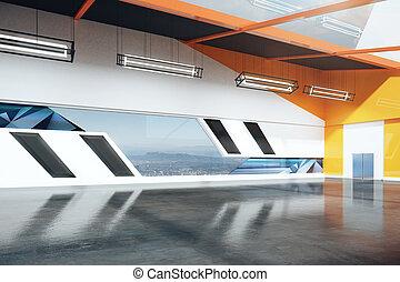 Loft interior side
