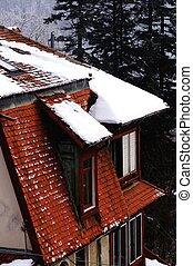 Loft under the snow