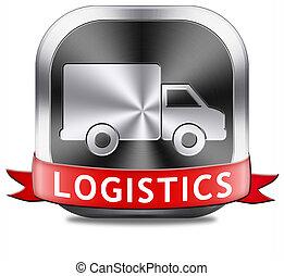 logística, transporte, carga