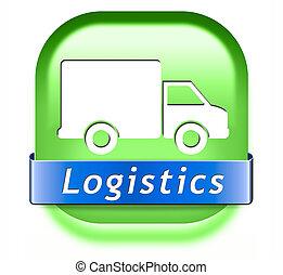 logística, transporte de mercadería