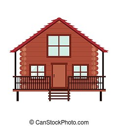 log cabin icon