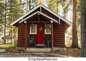 Log cabin