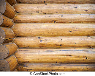 Log home background