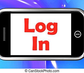 Log In Login On Phone Shows Sign In Online - Log In Login On...