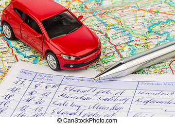 logbook for car - log book for a car. for commuter tax and...