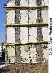 logement, site démolition