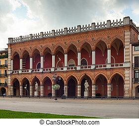 Loggia Amulea, Padova - View of the Loggia Amulea in Prato...