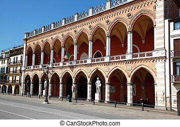 Loggia Amulea Padua - the Loggia Amulea at the square Prato...