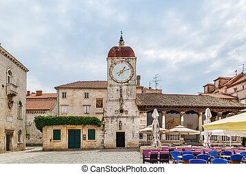 Loggia and clock tower, Trogir, Croatia
