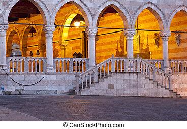 Loggia del Lionello, Udine - Italy
