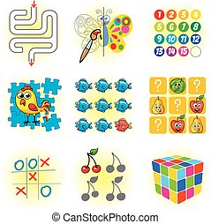 Logic games for kids