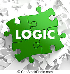 Logic on Green Puzzle.