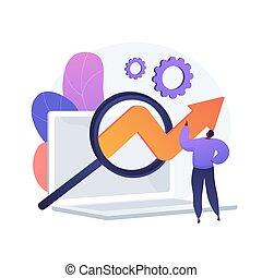 logiciel, vecteur, essai, concept, métaphore