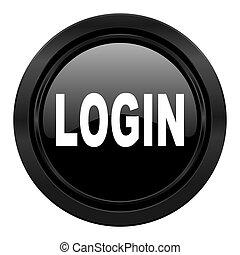 login black icon