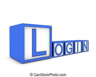 login make of cubes