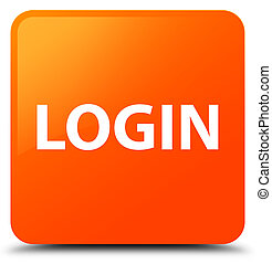 Login orange square button