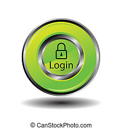 login, pictogram