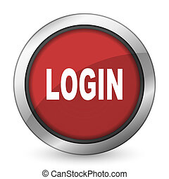 login red icon