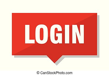 login red tag