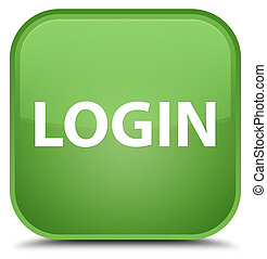 Login special soft green square button