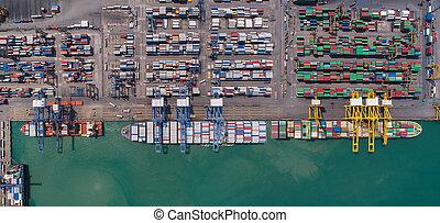 logistic, přístav