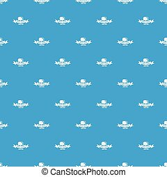 Logistic pattern vector seamless blue