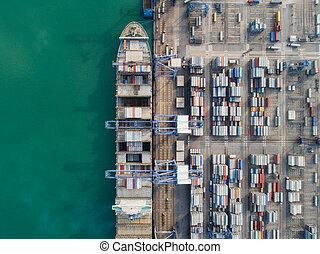 Logistic port
