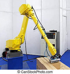 Logistic robot - Robotic arm for packing in logistic...