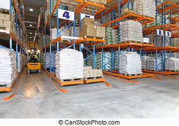 Logistic warehouse