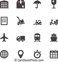 logistico, icone