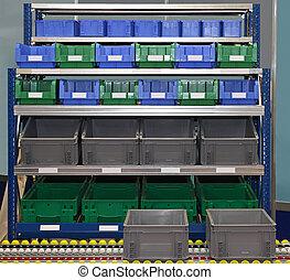 logistico, scatole