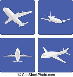 logistics aircraft set