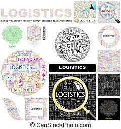 Logistics. Concept illustration.