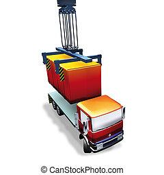 logistics container