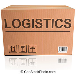 logistics international trade import and export cardboard...