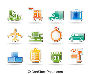 logistics, shipping, transportation