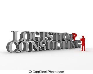 logistique, consultant, &