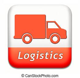 logisztika, rakomány szállítás