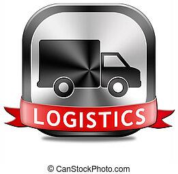 logisztika, szállítás, rakomány
