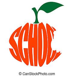 logo, école, primaire