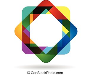 Logo abstract business card