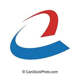logo, abstrakcyjny, ikona