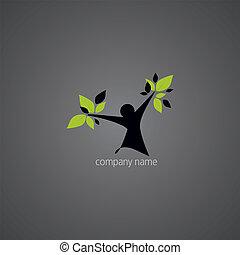 logo, abstrakcyjny