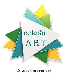 logo, abstrakcyjny, trójkąt, jasny, projektować