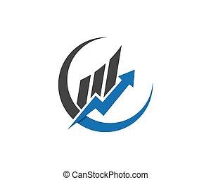 logo, affaires financent