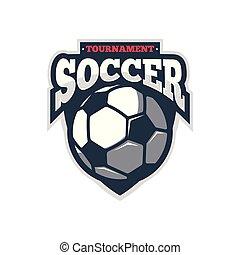 logo, américain, sport, championnat, football