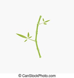 logo, arbre bambou