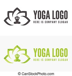 Logo, badge, label, logotype elements with pose for web, ...